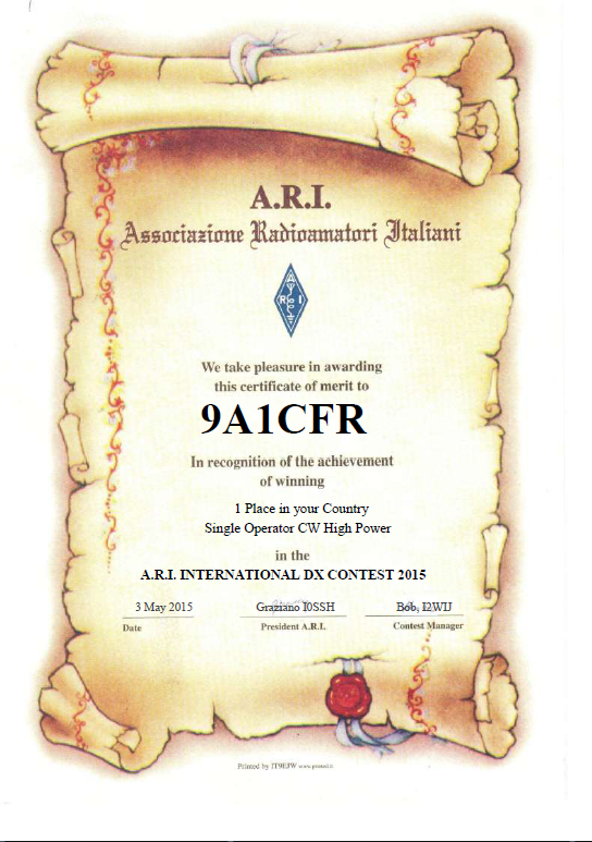 ARI 2015